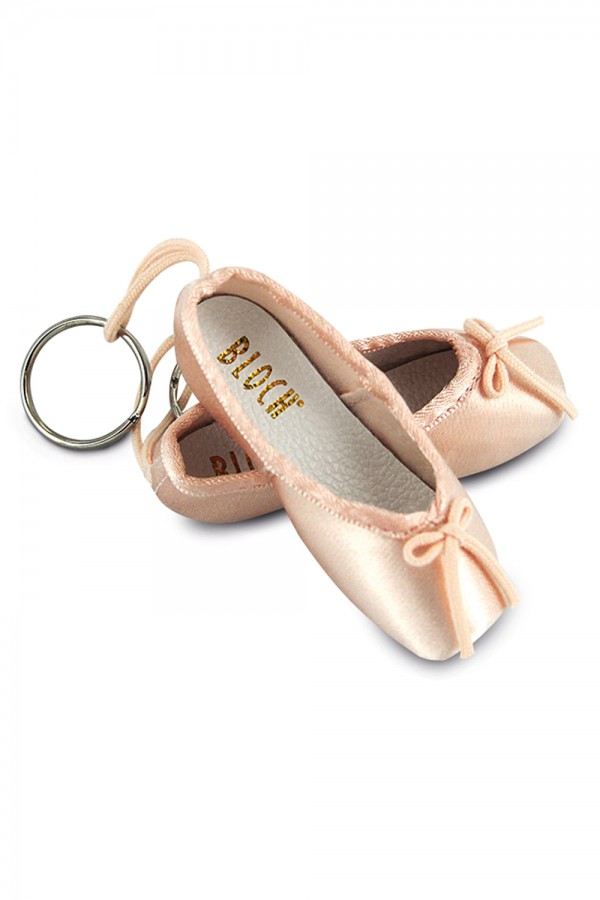 image - Mini Pointe Shoe Key Ring 6 Pak Dance Shoes Accessories