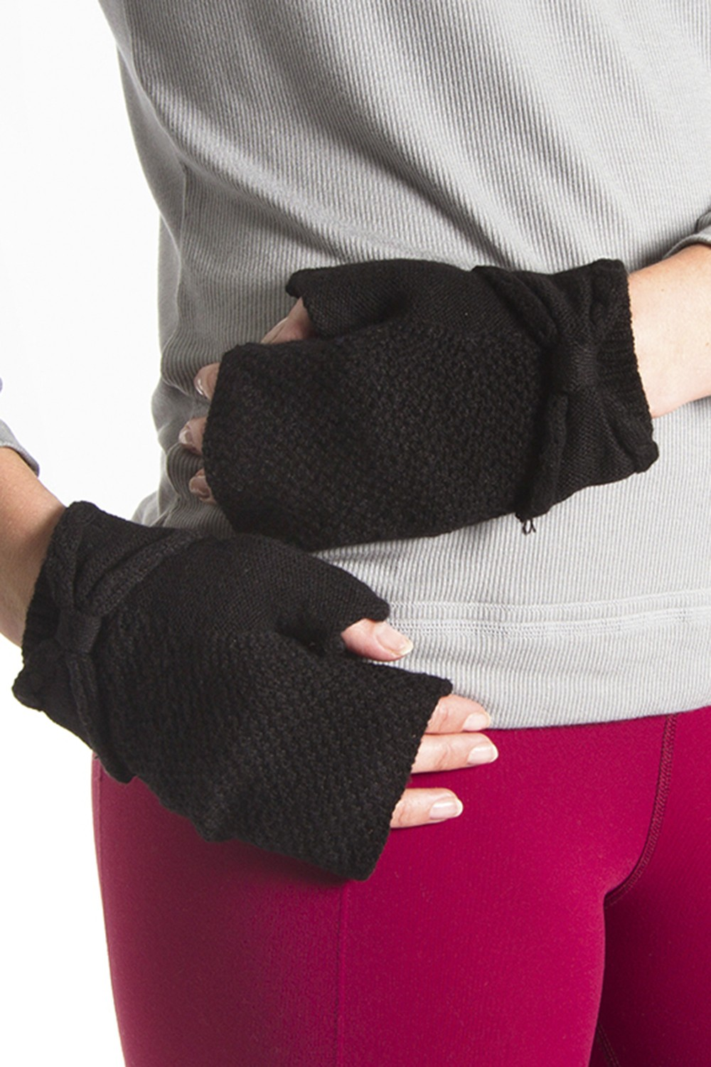 True Knit Gloves Women's Dance Warmups