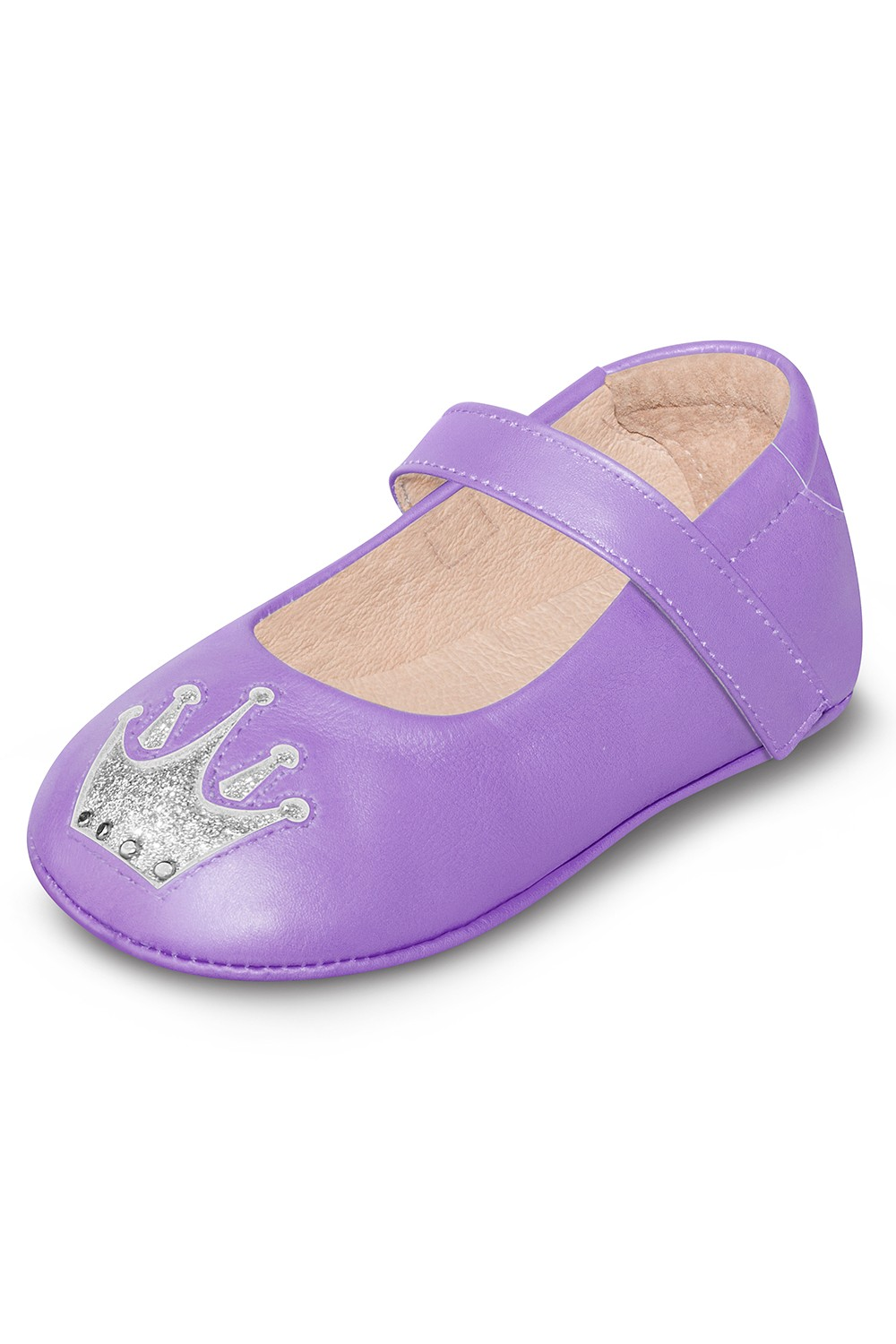 Crown Ballet Flat Babies Fashion Shoes