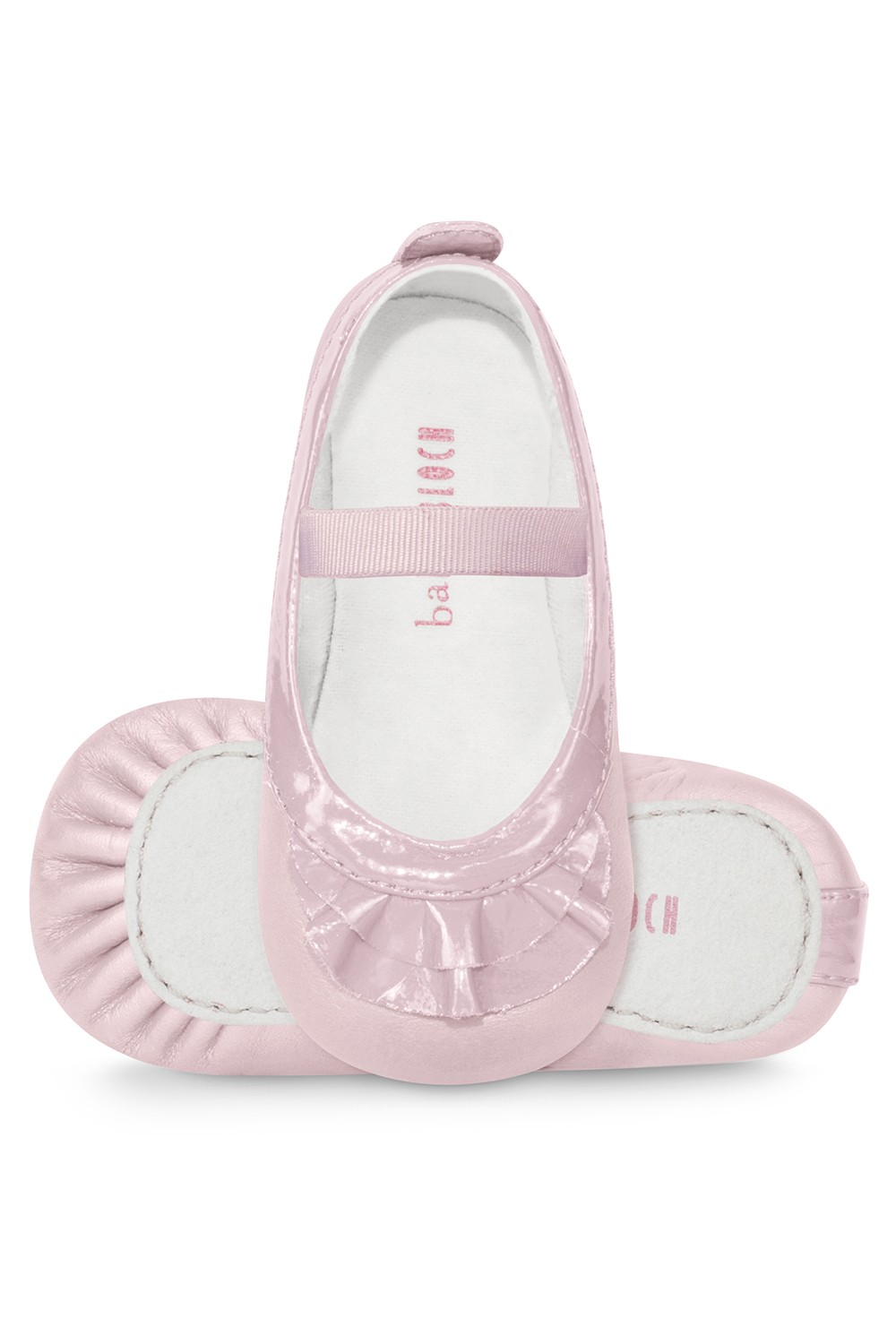 Frilled Pearl Ballet Flat Babies Fashion Shoes