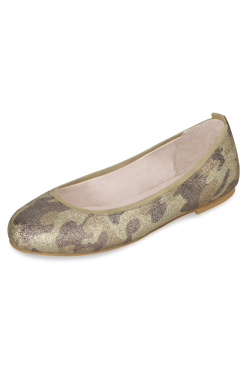 Camouflage Ballet Flat Girls Fashion Shoes