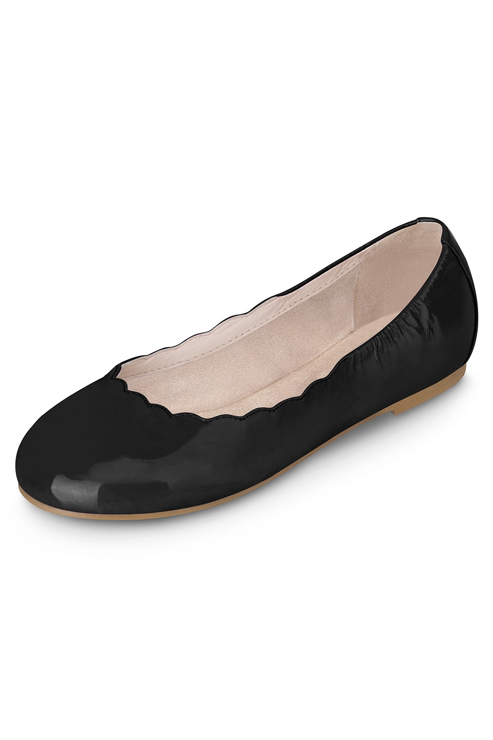Scalloped Ballerina - Niña Girls Fashion Shoes