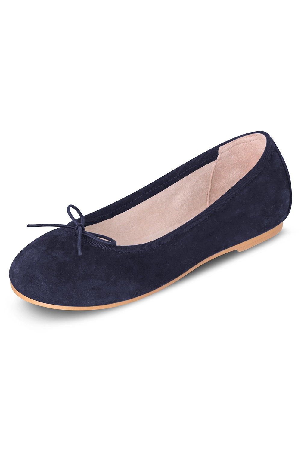 Suede Ballerina Girls Fashion Shoes