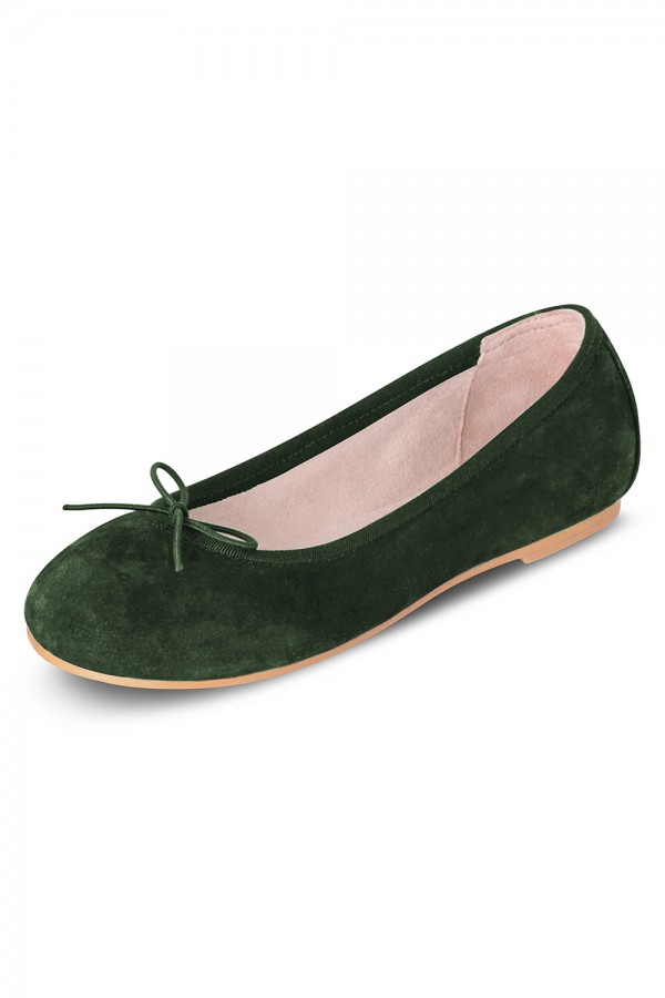 image - Suede Ballerina Girls Fashion Shoes