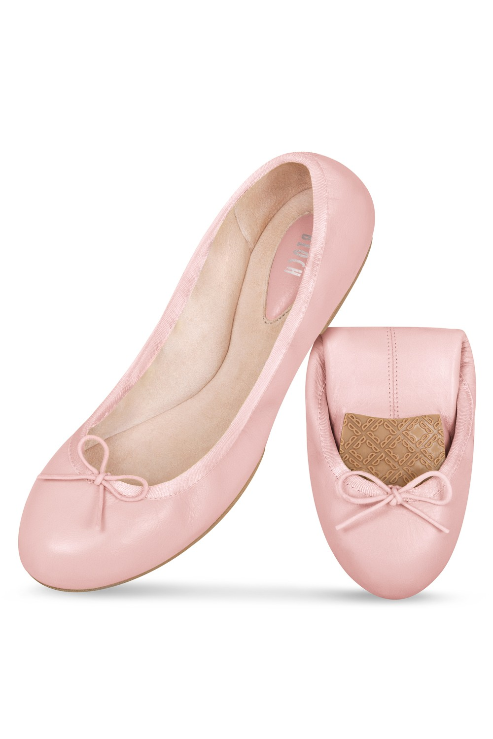 Amelie Fold Ballet Flat Shoes Womens Fashion Shoes