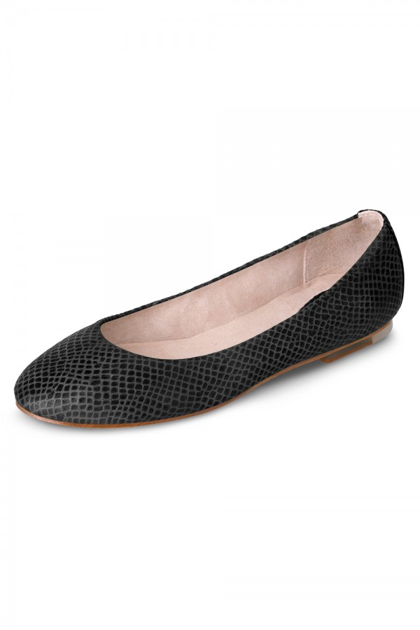 image - Pauline Snake Skin Ballet Flat Shoes Womens Fashion Shoes