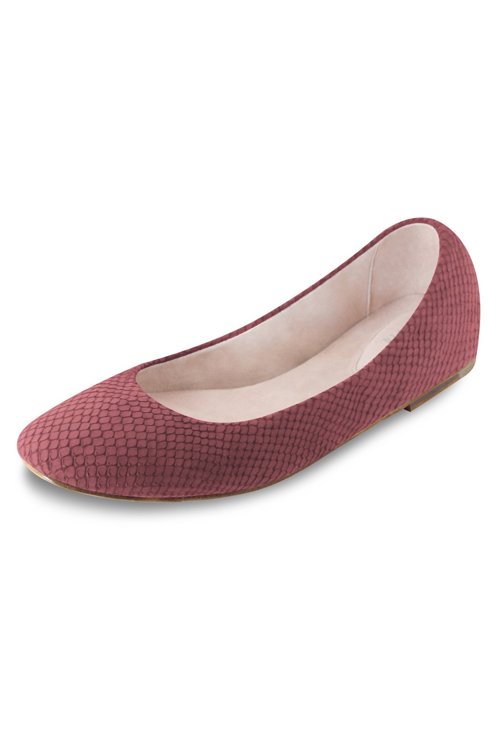 Keeley Ballet Flat Womens Fashion Shoes