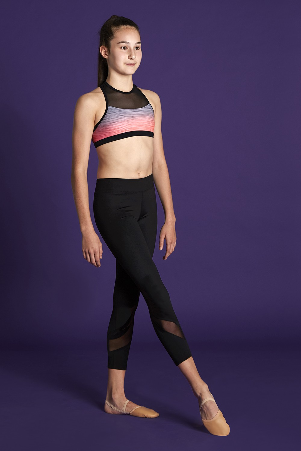Mesh Racerback Crop Top Bloch Moves