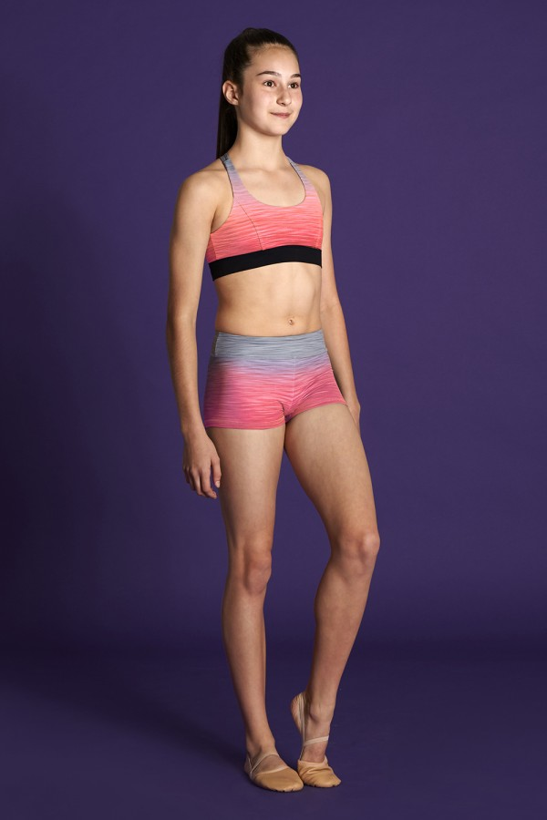 image - Gradient Short Children's Bottoms