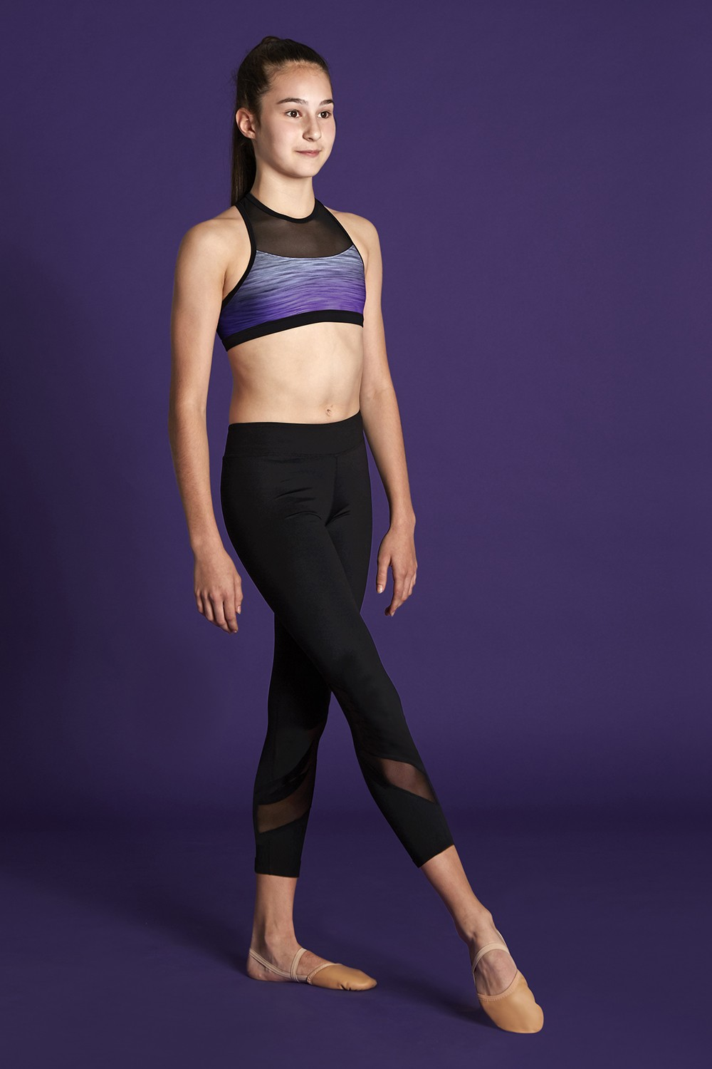 Mesh Insert Legging Bloch Moves