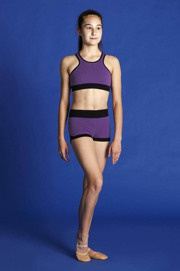 image - Core Textured Curve Side Short Bloch Moves