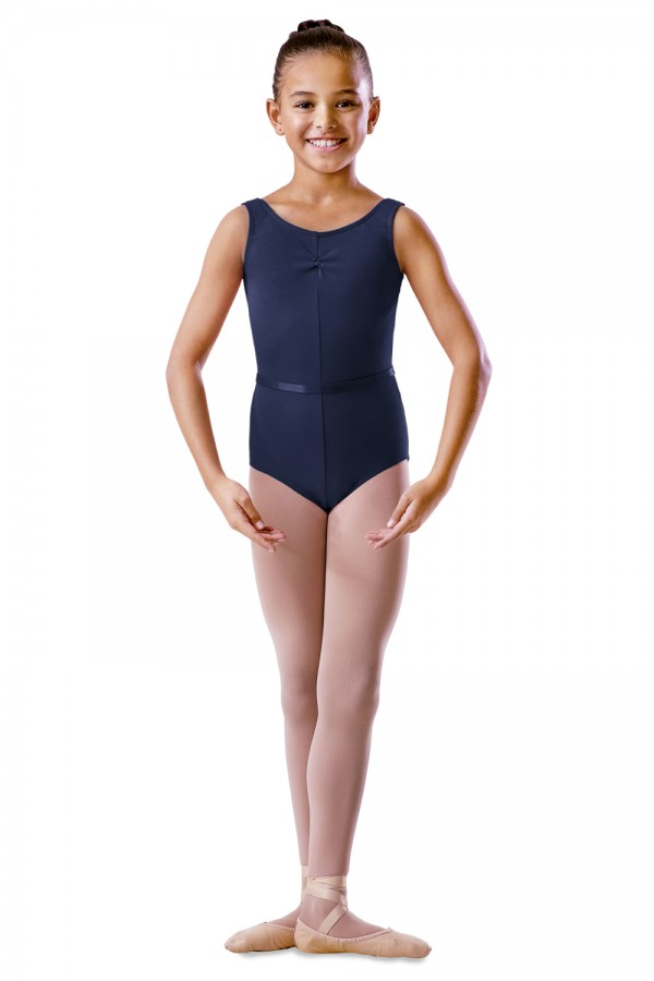 image - Rouche Front Tank - Girls Children's Dance Uniforms