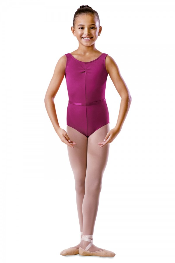 image - Childrens Rouche Front Tank Leotard Children's Dance Uniforms