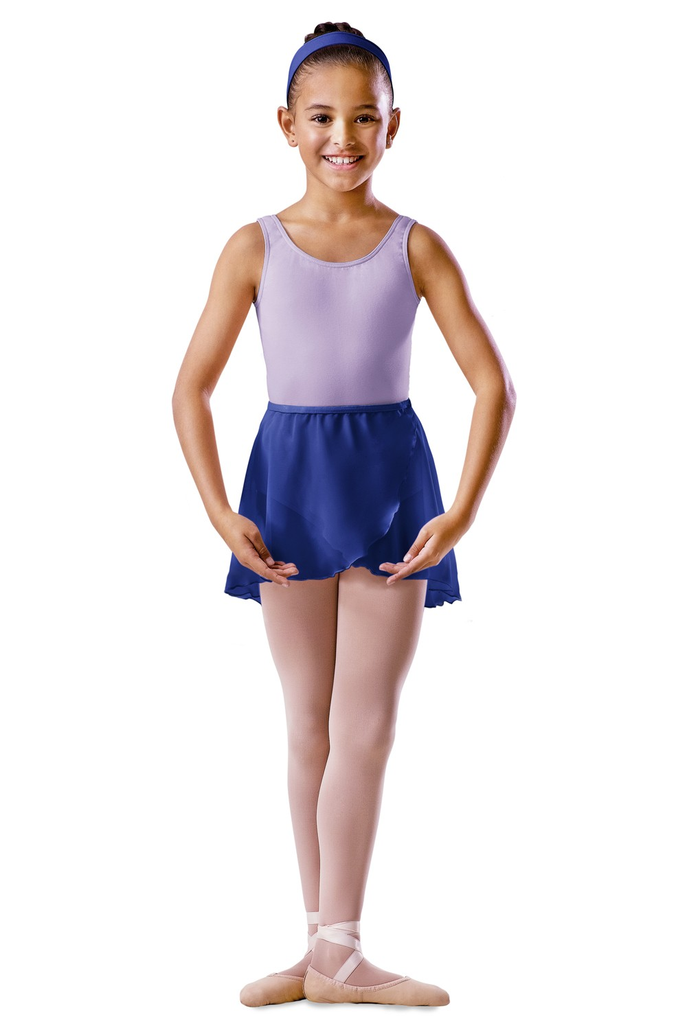 Childrens Cross Over Skirt Children's Dance Uniforms