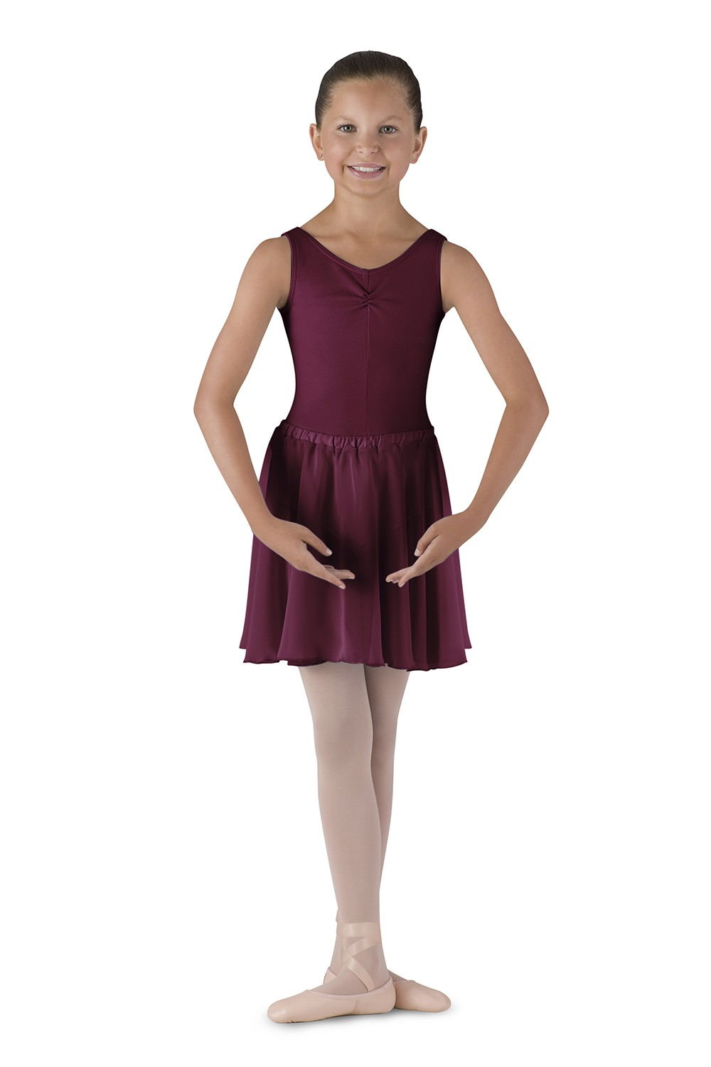 Georgette Skirt Children's Dance Uniforms