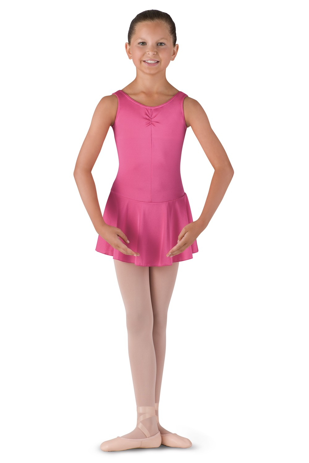 Skirted Tank Leotard Children's Dance Uniforms