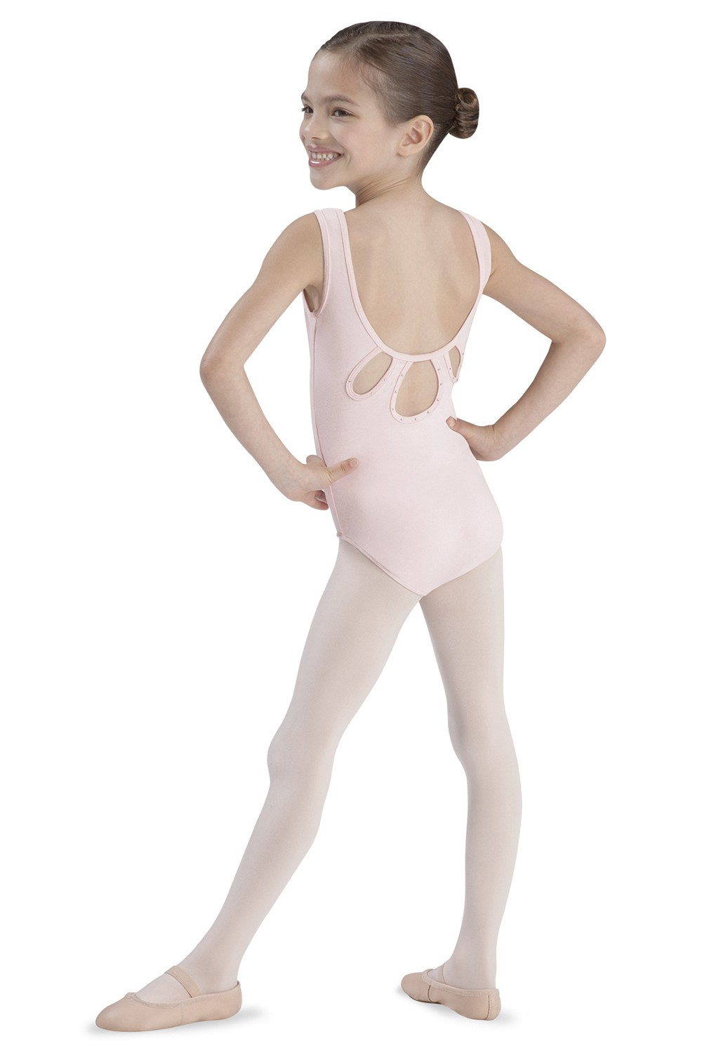 Keyhole Tank Leo Children's Dance Leotards