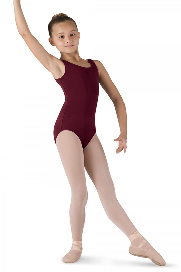 BRIGHT PINK Long Sleeve Ballet Dance Leotard for Toddler and Girls-.