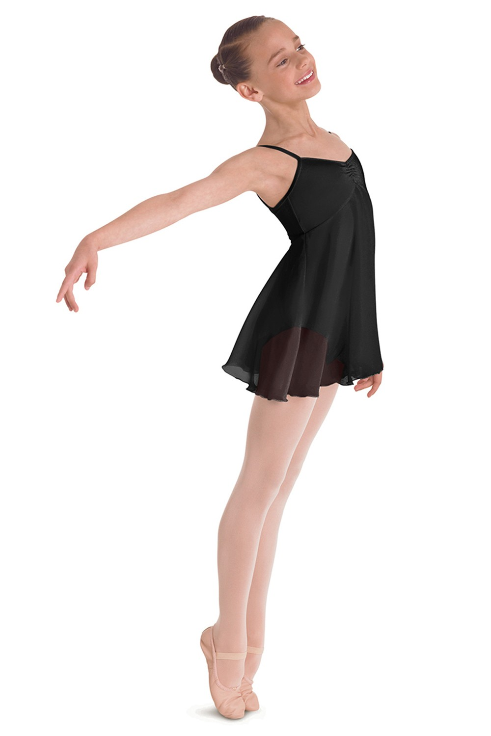 Mesh Dress Children's Dance Leotards