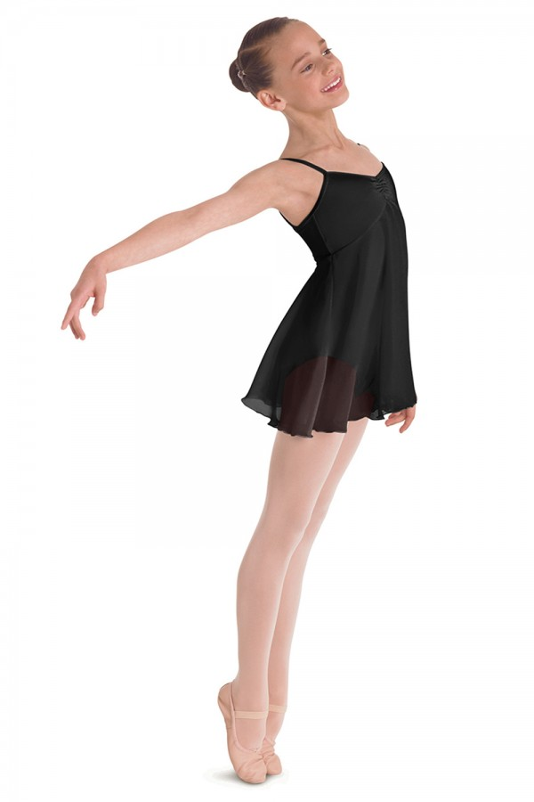 image - Mesh Dress Children's Dance Leotards