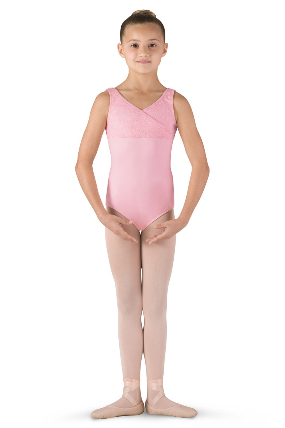 Mock Wrap Tank Leotard Children's Dance Leotards