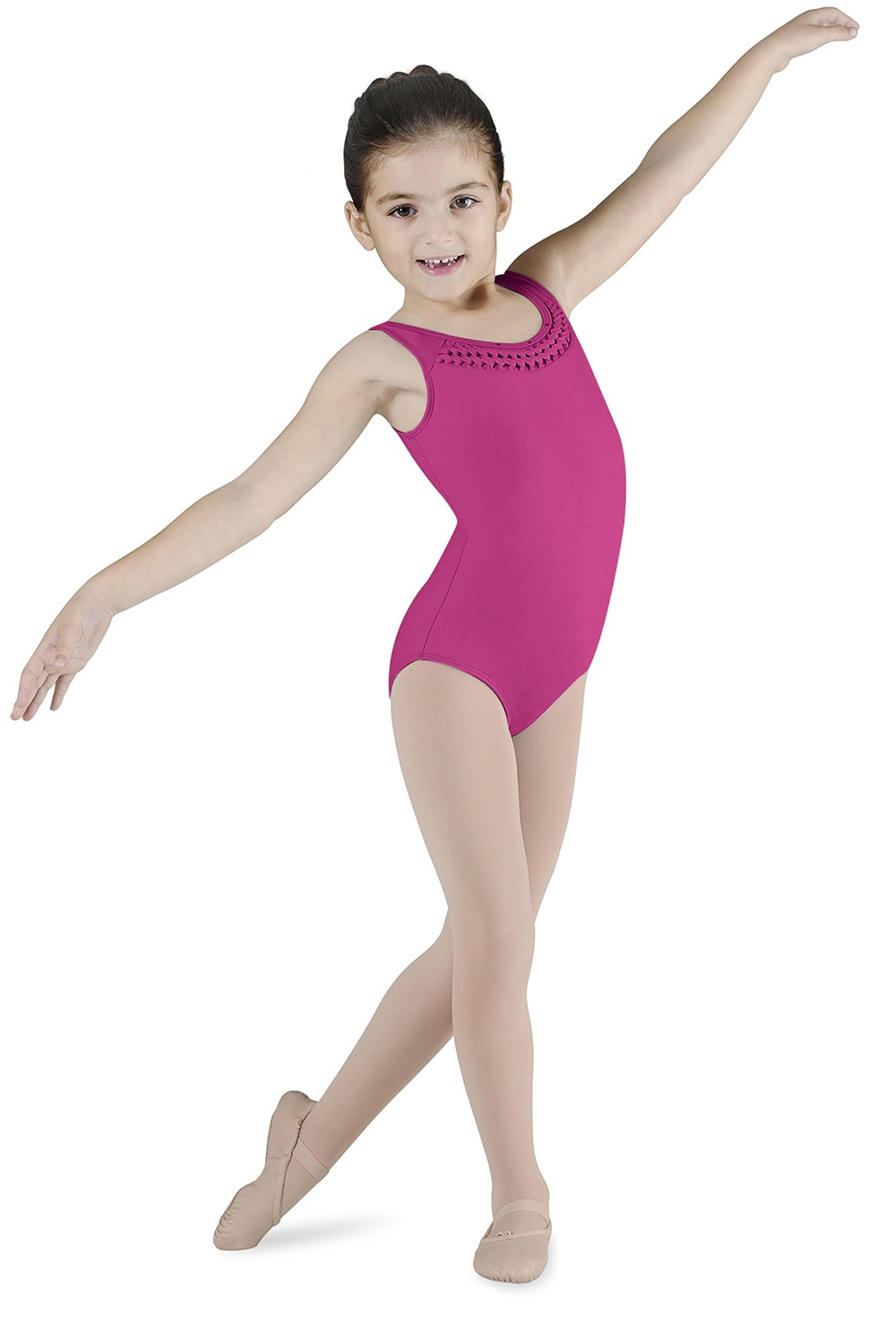 Spliced Front Tank Leotard Children's Dance Leotards