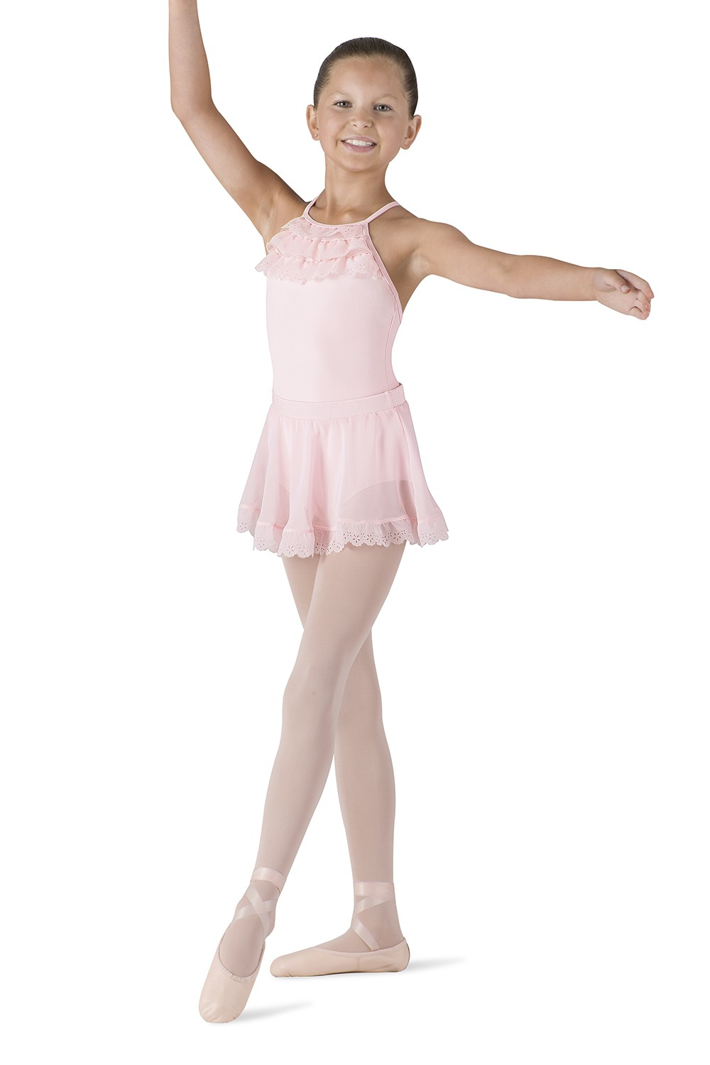 High Front X Back Camisole Children's Dance Leotards