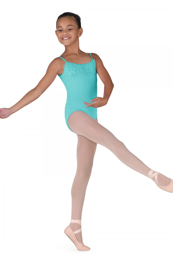 image - Gathered Bust Camisole Children's Dance Leotards