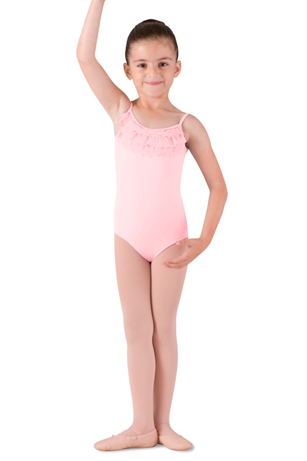 Frill Front Camisole Children's Dance Leotards