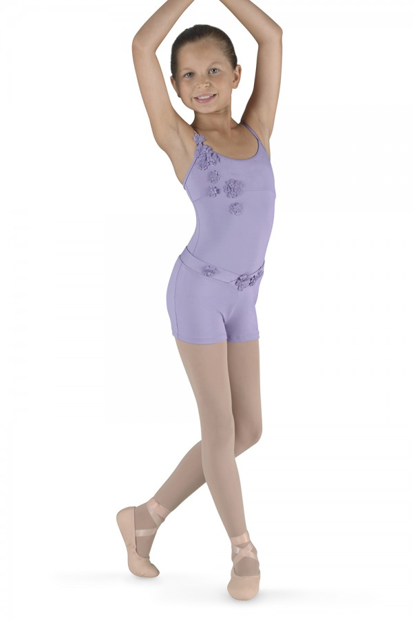 image - Applique Camisole Leotard Children's Dance Leotards