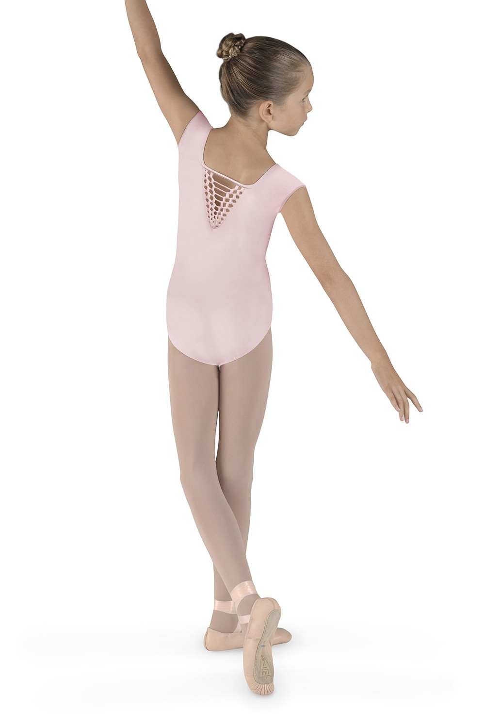 Vee Back Cap Sleeve Leotard Children's Dance Leotards