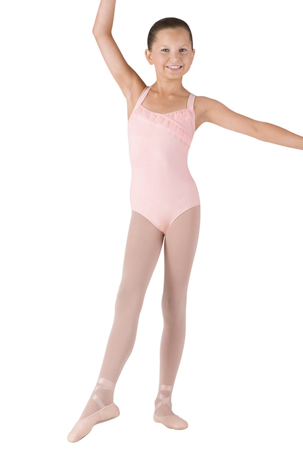 Mock Wrap X Back Leotard Children's Dance Leotards