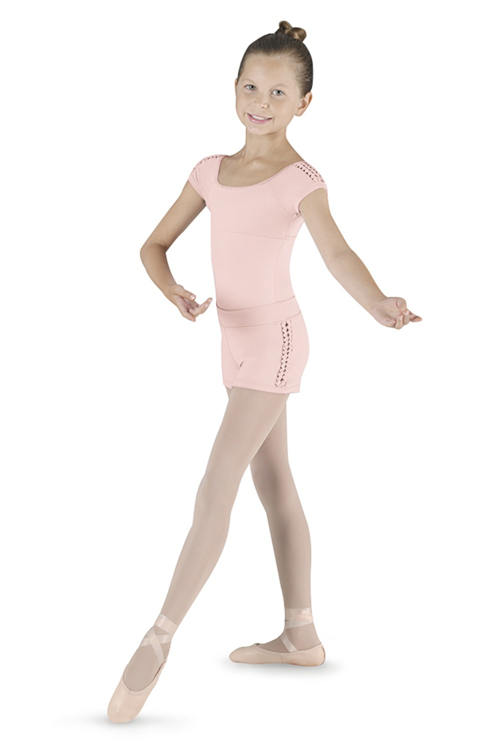 Spliced Shoulder Cap Sl Children's Dance Leotards