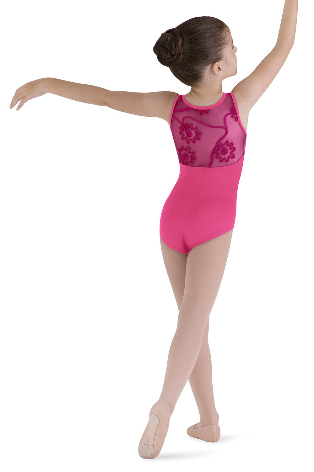 Tulle Back Tank Leotard Children's Dance Leotards