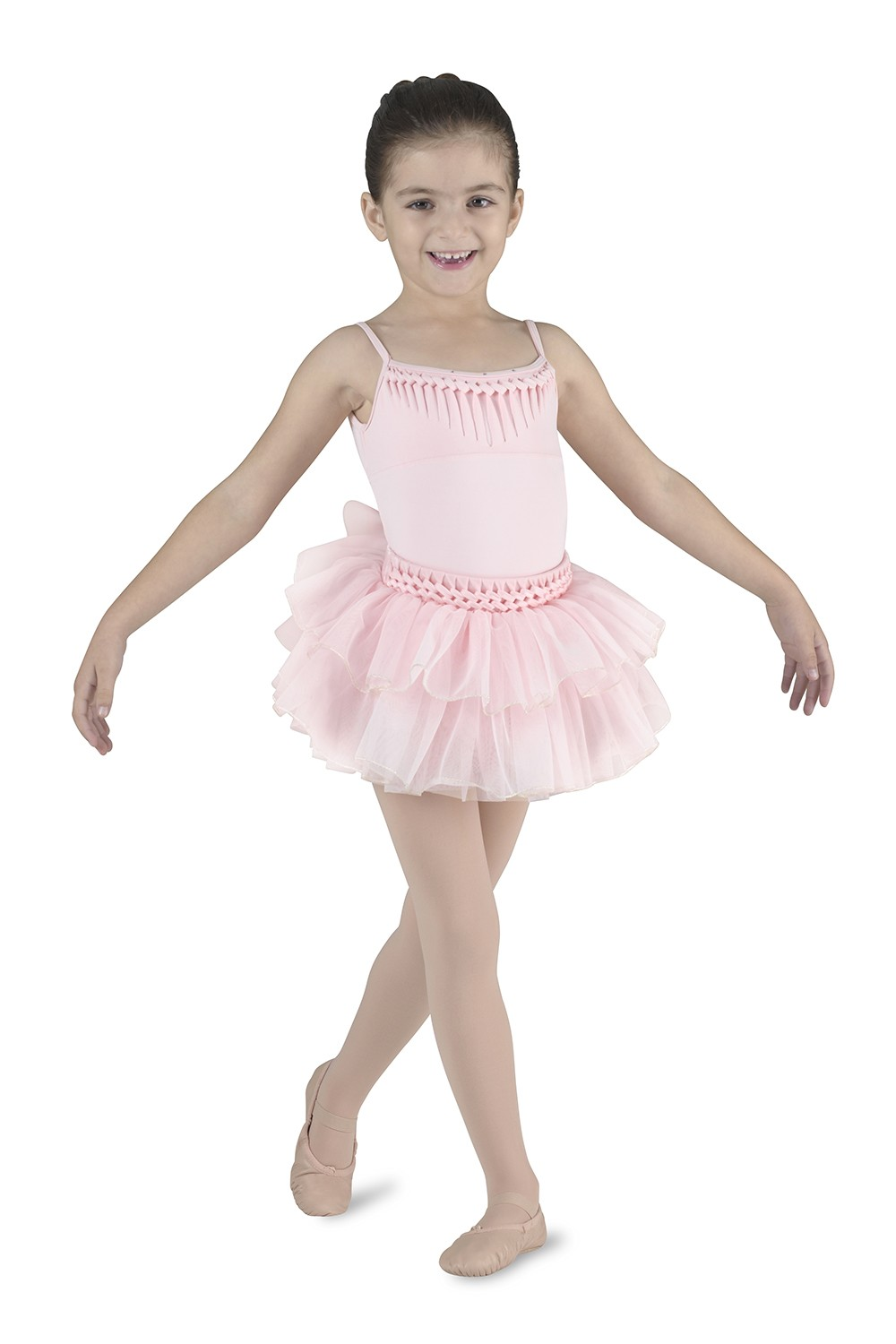Camisole Leotard With Diamantes Children's Dance Leotards