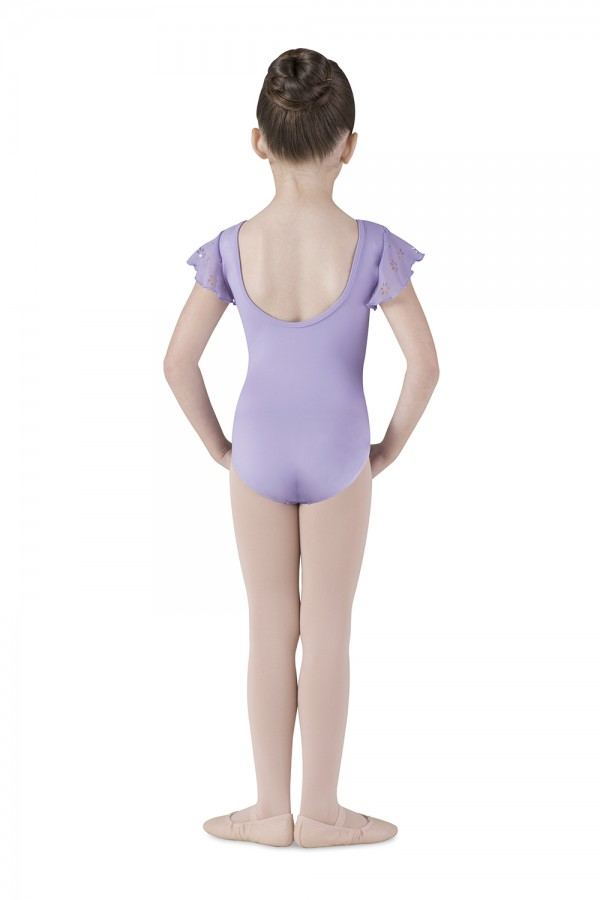 image - Flutter Sleeve Leotard Children's Dance Leotards