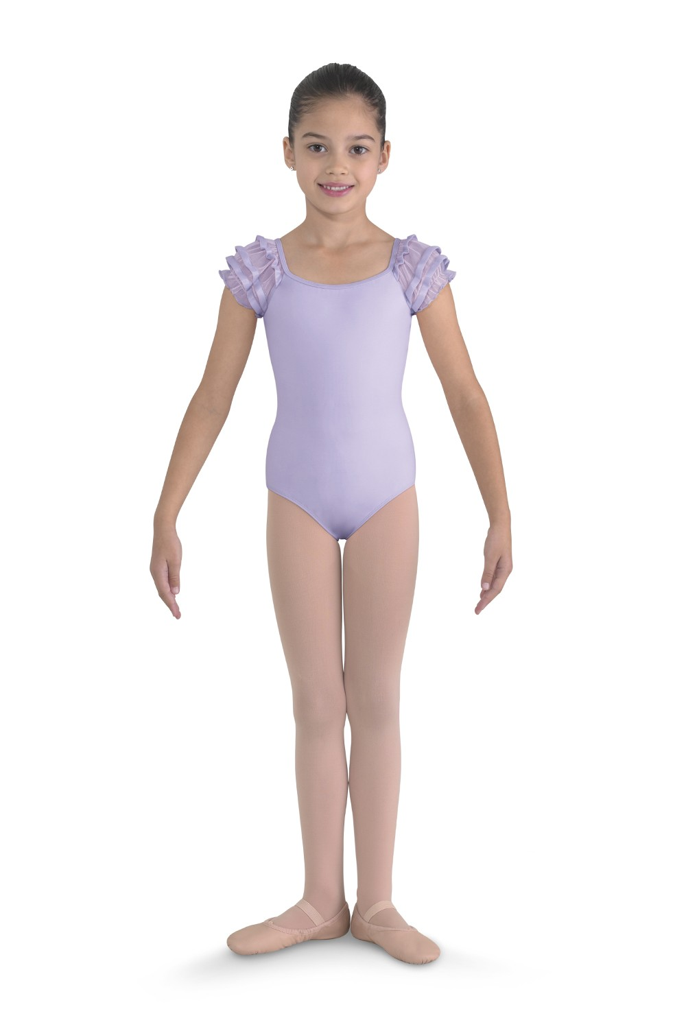 Puff Sleeve Leotard Children's Dance Leotards