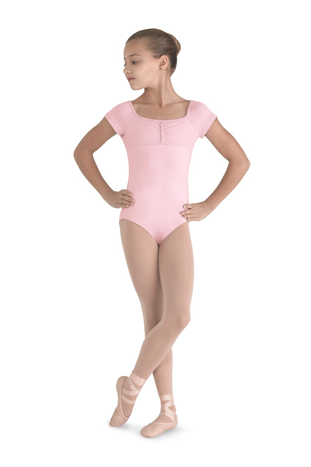 Gather Front Leotard Children's Dance Leotards