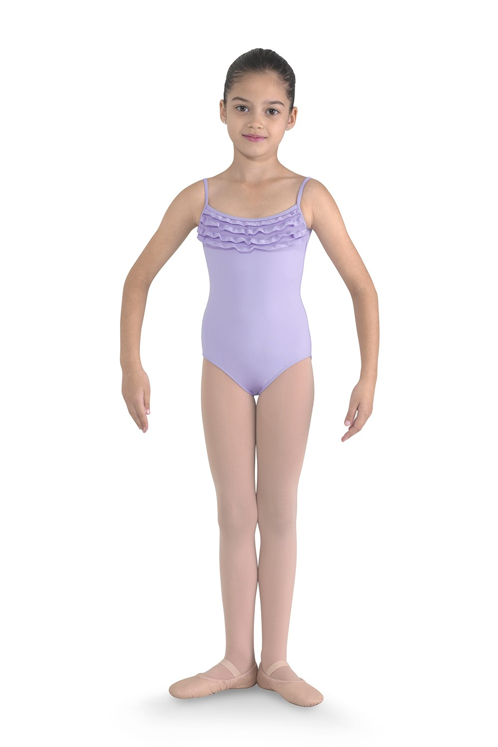 Neck Frill Camisole Leotard Children's Dance Leotards