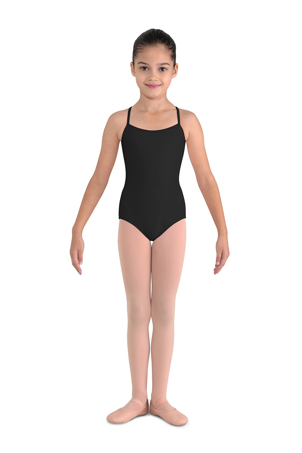 Flower Back Camisole Leotard Children's Dance Leotards