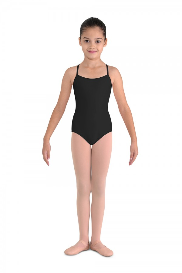 image - Flower Back Camisole Leotard Children's Dance Leotards