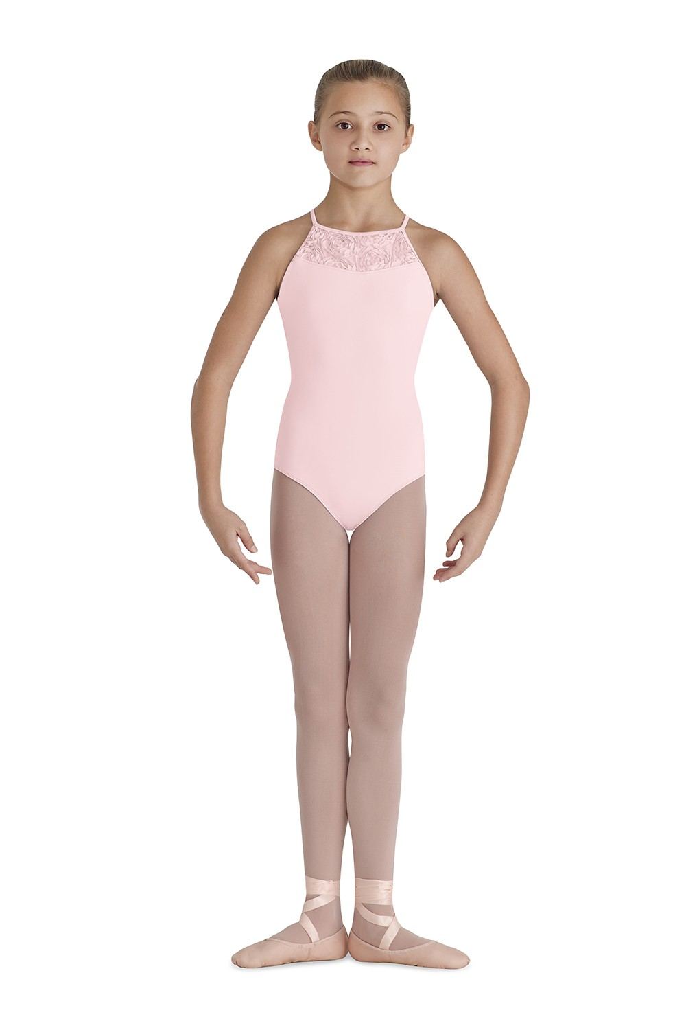 Yoke X Back Band Children's Dance Leotards