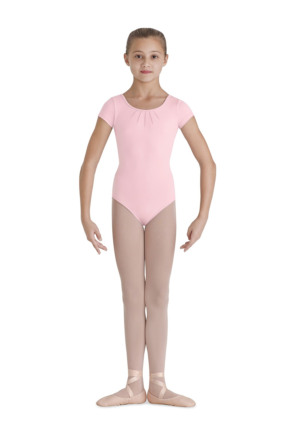 Pintuck Cap Sleeve Leotard Children's Dance Leotards
