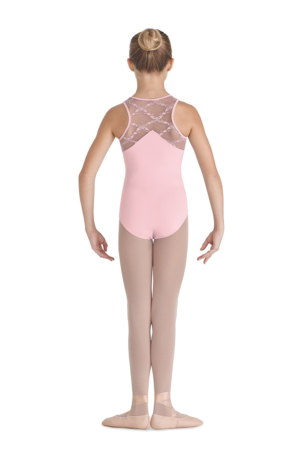 Shaped Back Tank Children's Dance Leotards