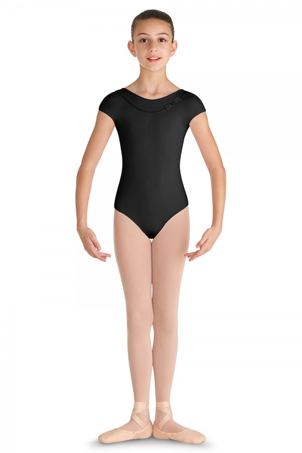 image - Bow Front Cap Sleeve Leotard Children's Dance Leotards