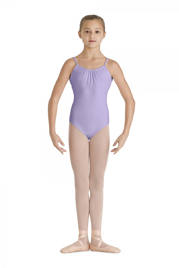 Front Gather Camisole Leotard Children's Dance Leotards
