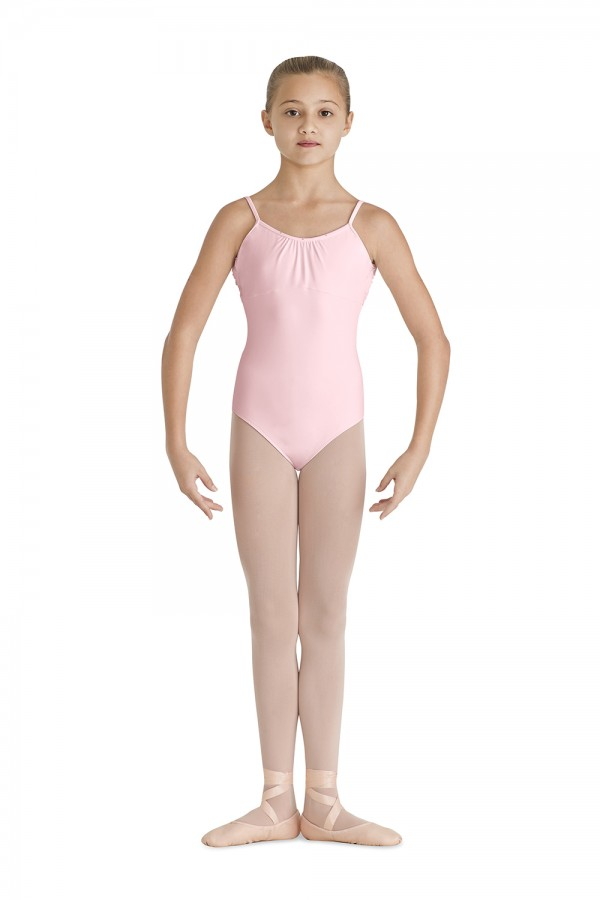 image - Front Gather Camisole Leotard Children's Dance Leotards