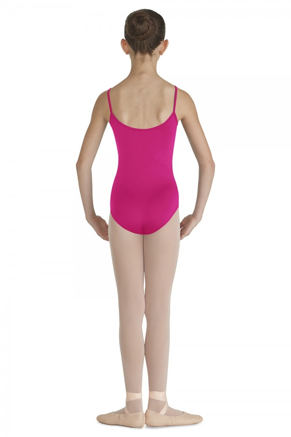 image - Pintuck Front Camisole Leotard Children's Dance Leotards