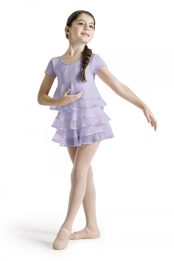 image - Cap Sleeve Leotard Dress Children's Dance Leotards