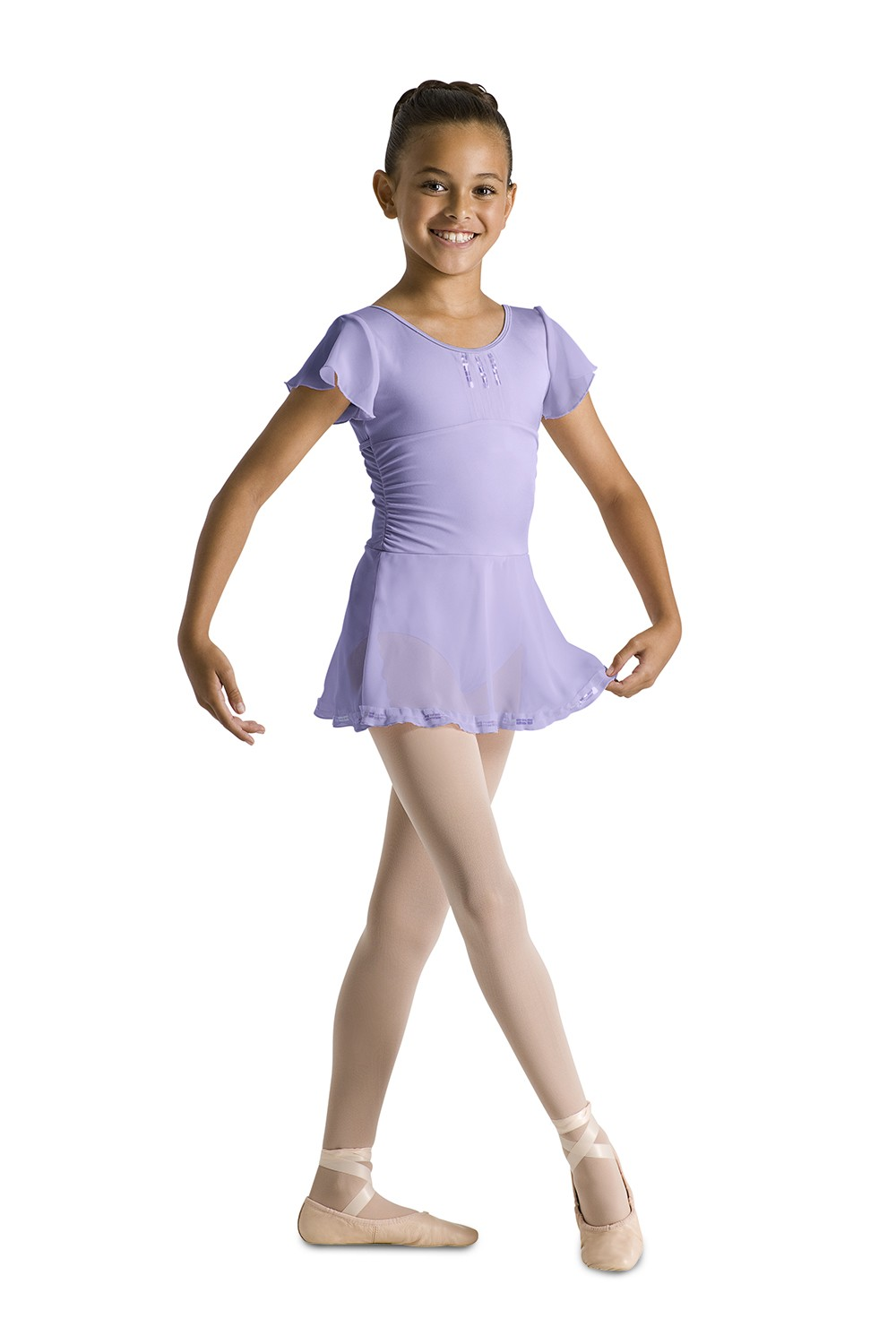 Flutter Sleeve Skrt Leotard Children's Dance Leotards